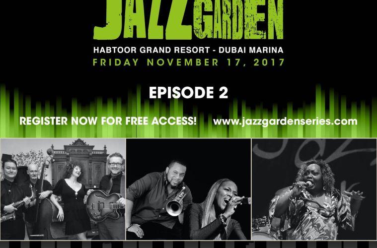 EPISODE 2 OF THE JAZZ GARDEN SERIES IS UNDERWAY! BRACE YOURSELVES ...