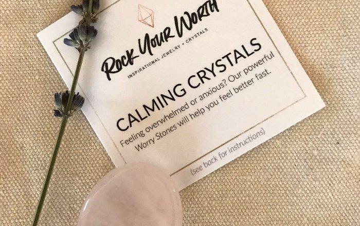Calming Crystals Worry Stones