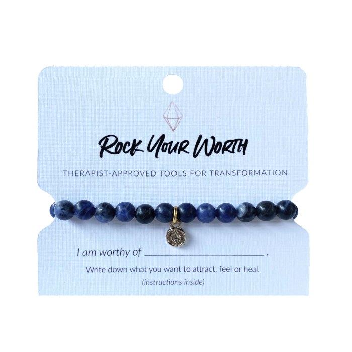 Sodalite Bracelet Rock Your Worth