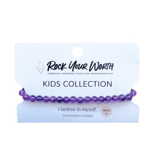Kids Amethyst Bracelet