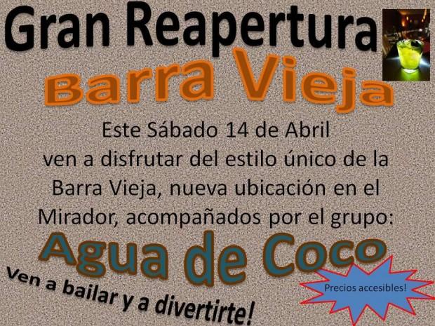 barravieja-620x465 Barra Vieja to reopen: Now in Mirador!