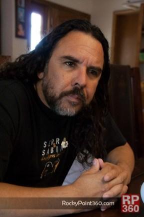 Escritor-Carlos-Sanchez-413x620 Carlos Sánchez boosts Creative Writing in Puerto Peñasco