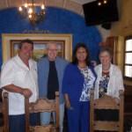 Alcalde-GFZ-con-los-Clifton Salud, amigo. Rodger Clifton