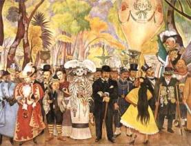 diego-rivera-catrina La Catrina - The woman of Mexico