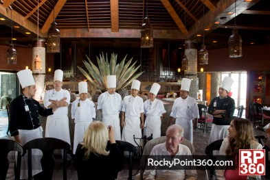 Chef Neftali Ponce at Mayan Palace Puerto Peñasco