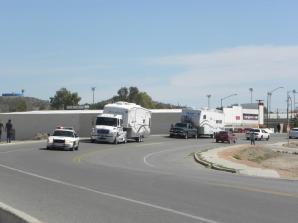 RV caravan travels safely through Sonoyta on way to Puerto Peñasco, Sonora