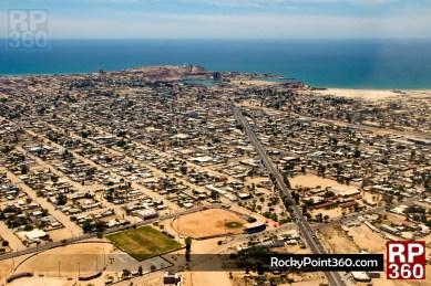 puerto peñasco vista aerea