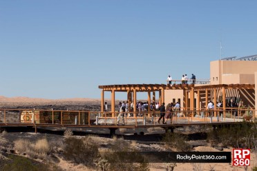 Pinacate World Heritage Site ceremony