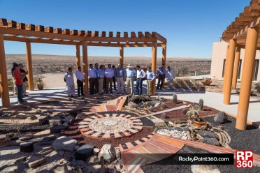 Pinacate plaque unveiling World Heritage Site