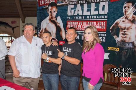 Gallo-Estrada-press-conference-3 Gallito to defend titles in Puerto Peñasco