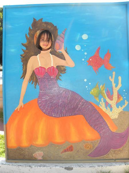 mermaid-cut-out Snow Moon?  Rocky Point Weekend Rundown!