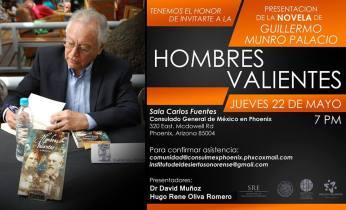 "munro-consul-may22 ""Hombres Valientes"" Book Tour"