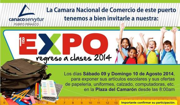 expo-clases Expo Regreso a Clases / Back to School Expo Aug 9 - 10