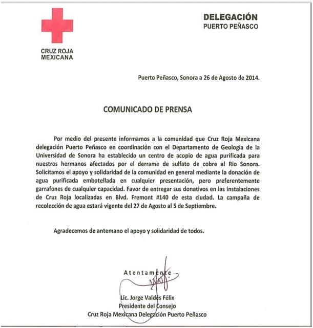 red cross-agua