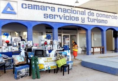 """DSCF2614-630x435 Realiza CANACO sorteo """"Si en Peñasco Compramos, todos ganamos"""""""