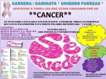 cancer-carrera-630x472 Puerto Peñasco joins fight against cancer