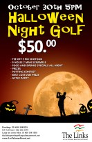 halloween golf