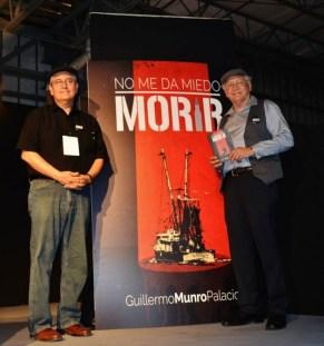 Guillermo Munro Palacio, presentando No me da miedo morir 8