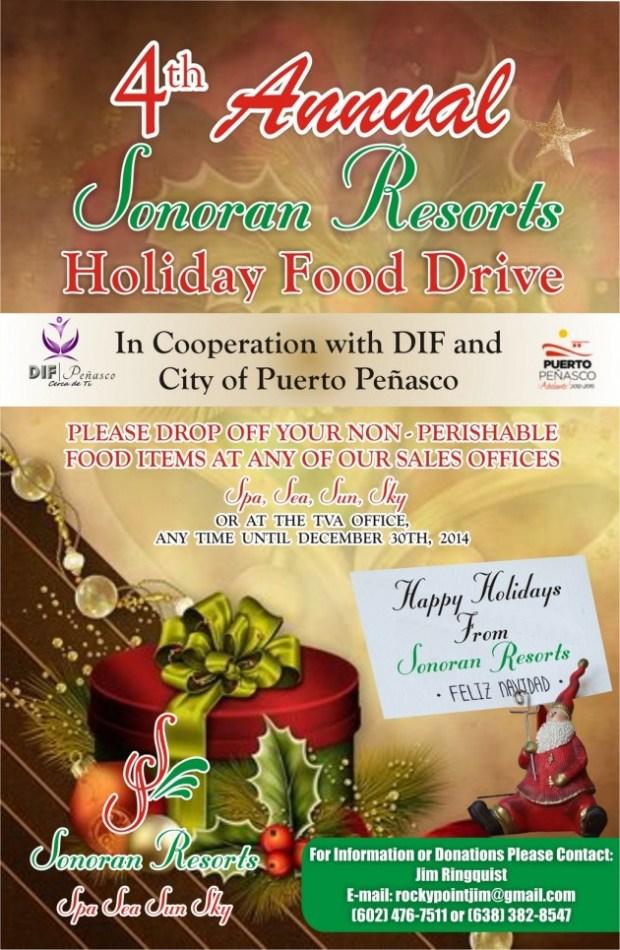 Sonoran-Food-Drive-Poster-20141-630x966 4th Annual Sonoran Resorts Food Drive