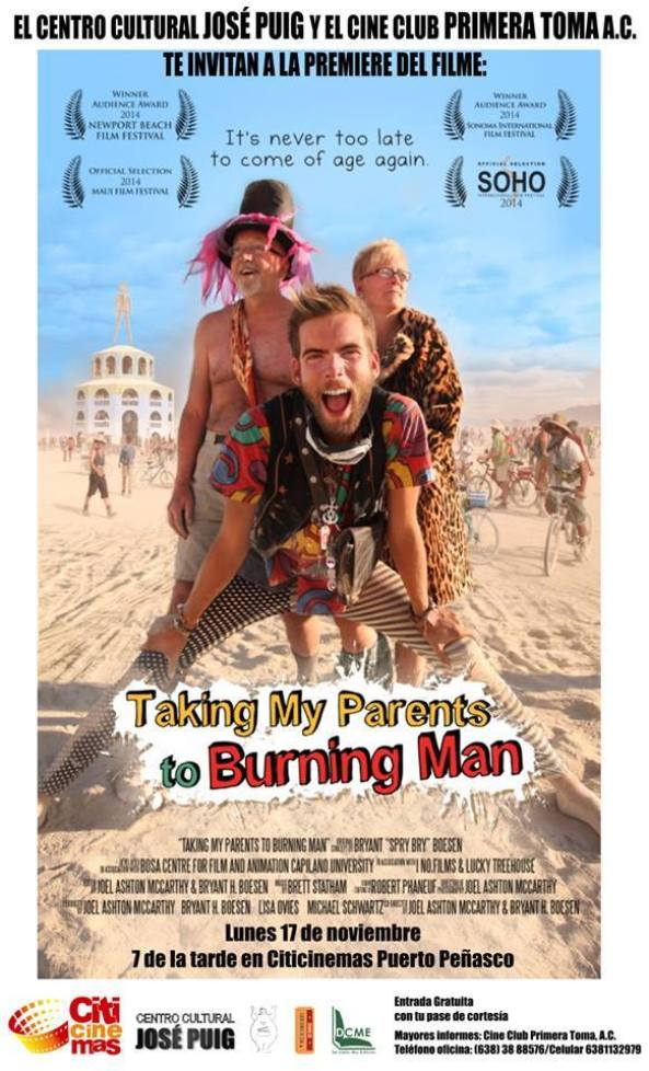 """burning-man-nov17 """"Taking my Parents to Burning Man"""" - Documentary with the Director!"""