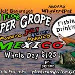 sat-frog-grouperJul4 4th of July @  the beach! ¡Bienvenidos!