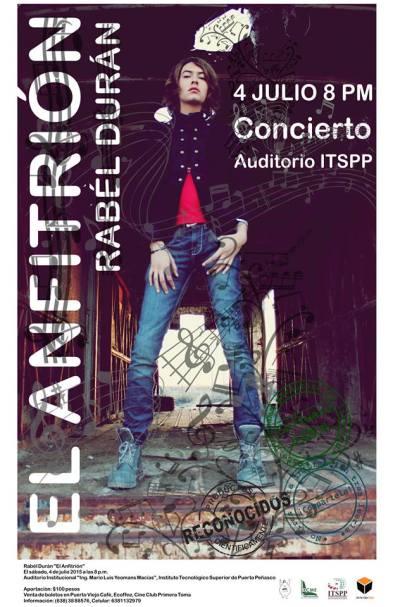 Rabel-Cartel-Correcto Rabél Durán 'El Anfitrión' ofrecerá concierto este 4 de julio