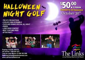 halloween-golf-palomas Cycle, Walk, or Ride for a cause!  Rocky Point Weekend Rundown!