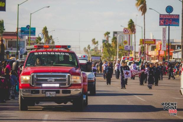 Desfile-Revolucion-Mexicana-2015-003 Aniversario de la Revolución, Puerto Peñasco 2015