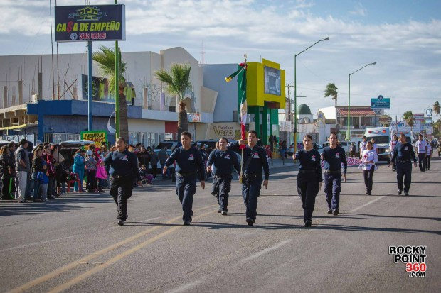 Desfile-Revolucion-Mexicana-2015-004 Aniversario de la Revolución, Puerto Peñasco 2015