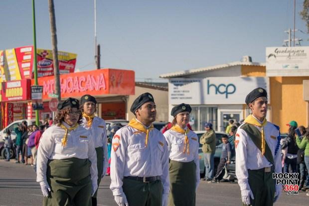 Desfile-Revolucion-Mexicana-2015-007 Aniversario de la Revolución, Puerto Peñasco 2015