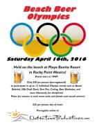 beach-beer-olympics-april #RPSB2K16  Wk2! Rocky Point Weekend Rundown!
