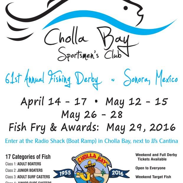 CBSC-61st-Derby-Poster-2016 ¡Viva! 5 de mayo Rocky Point Weekend Rundown!