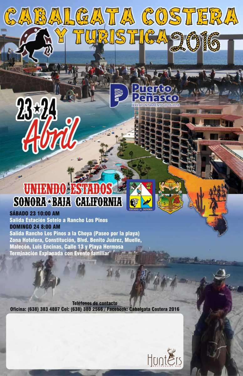Cabalgata 2016 poster