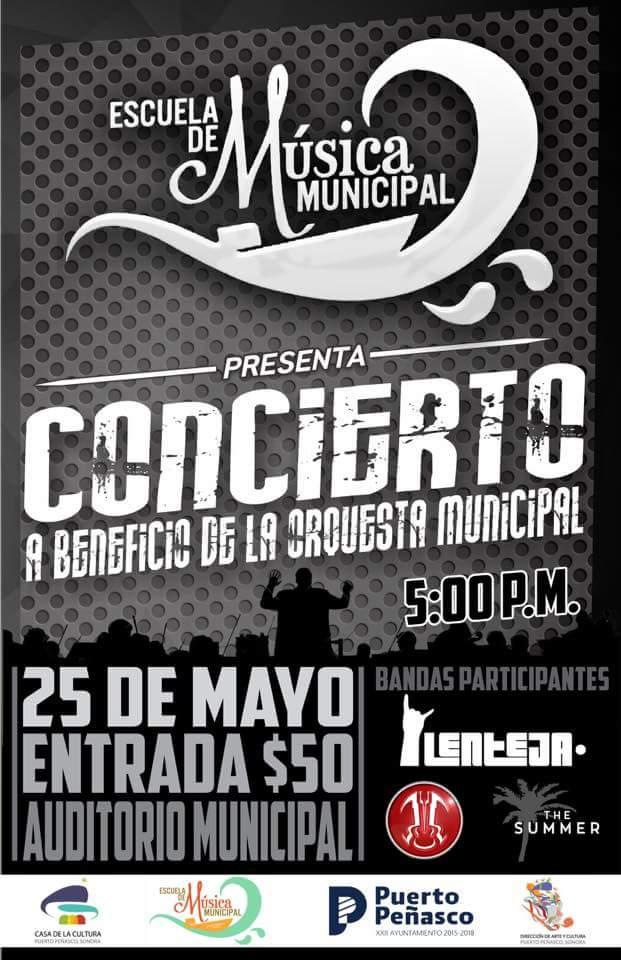 25-concierto-orquesta Fundraising concert for Municipal Orchestra