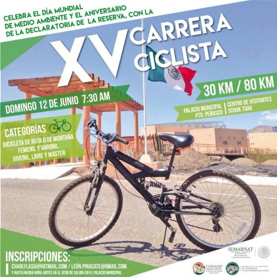 carrera-pinacate 15th Anniversary Pinacate Bike Race – June 12