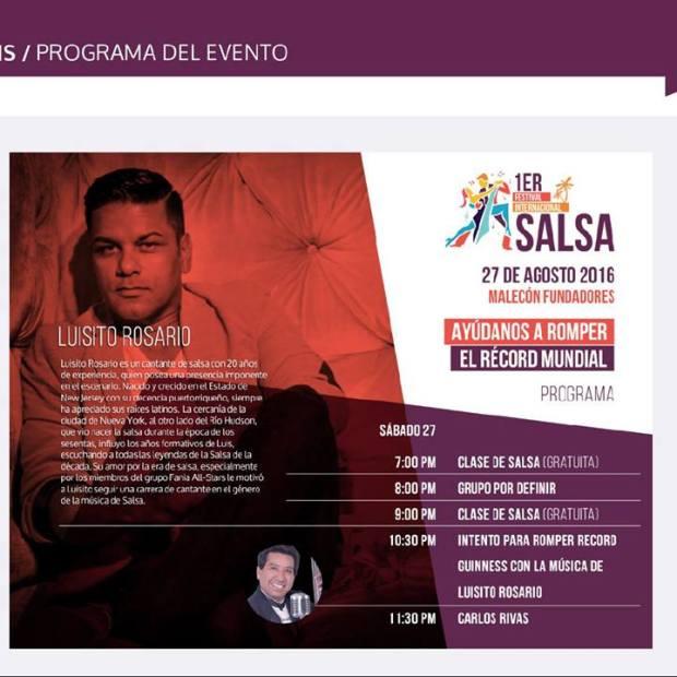 salsa-ago-programa Summer...some more... Rocky Point Weekend Rundown!