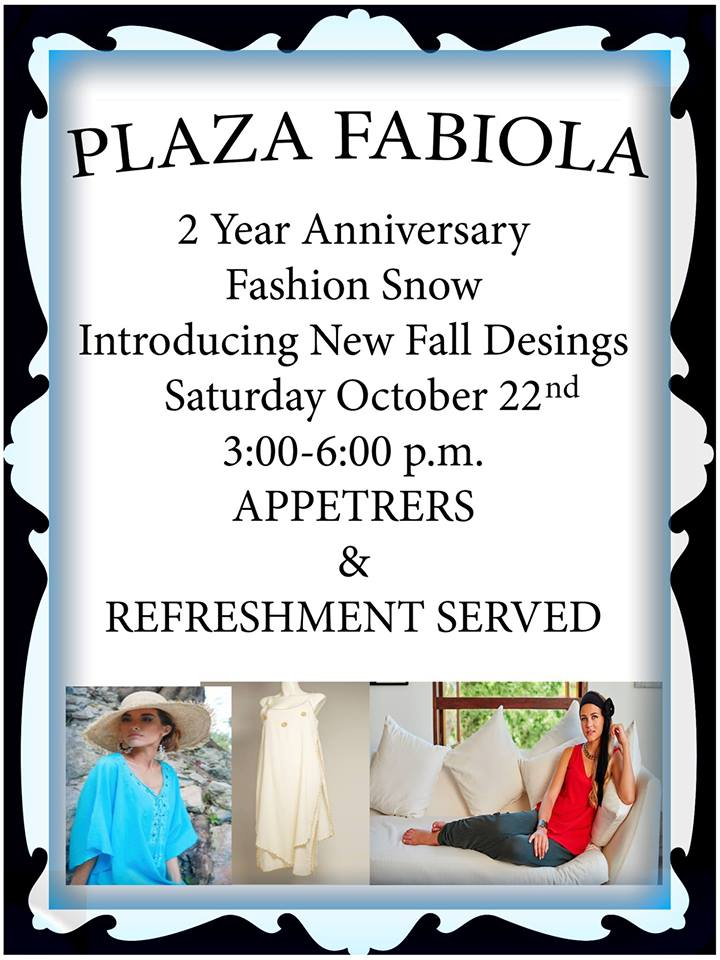 plaza-fabiola Plaza Fabiola to celebrate 2nd Anniversary - Oct 22nd