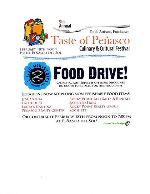 taste-food-drive Taste of Peñasco Food Drive!