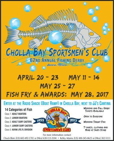CBSC-62nd-Fishing-Derby-2017 Yeah, Mom!  Rocky Point Weekend Rundown!