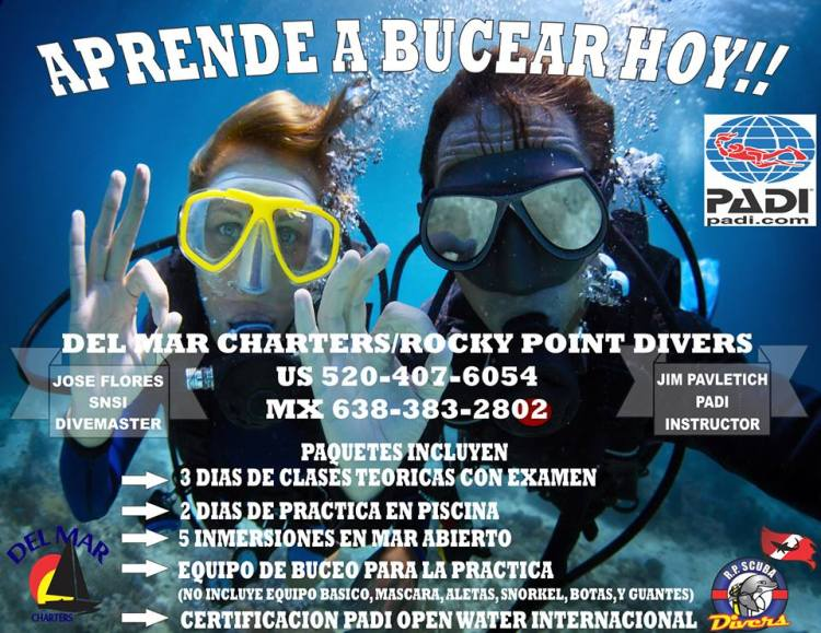 dive-spanish-flyer R.P. Scuba Divers open classes!