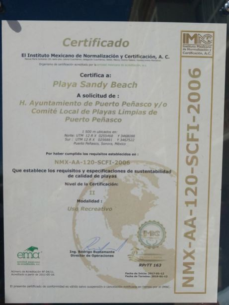 playas-limpias3 Puerto Peñasco: First Clean Beach Certification in Sonora