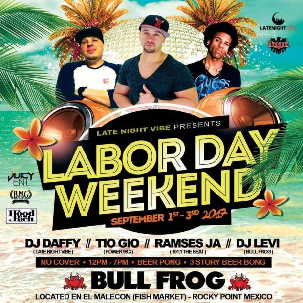 labor-day-bull-frog How to Labor Day Weekend in Rocky Point!