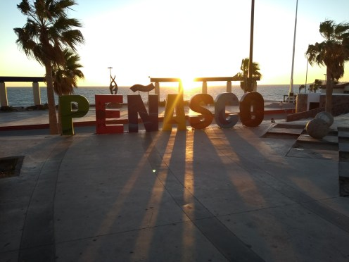 Peñasco El improvisado festival #FuerzaMéxico