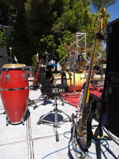 instrumentos-concierto-FuerzaMexico El improvisado festival #FuerzaMéxico