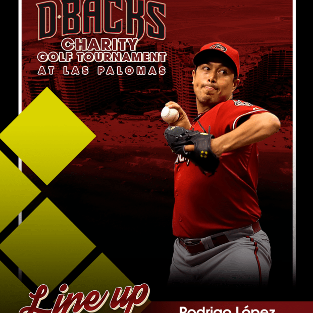 Rodrigo-lopez First Diamond Backs Charity Golf Tournament!