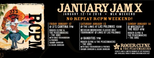 jan-jam-2018 ¡Feliz Navidad!  Rocky Point Weekend Rundown!