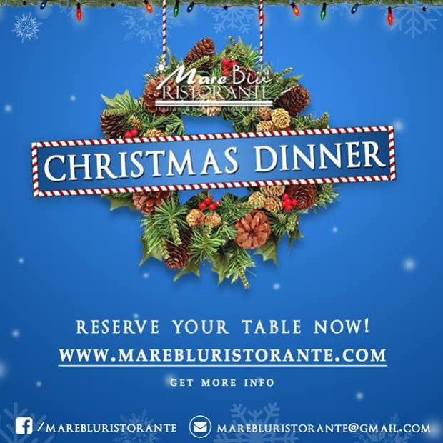 christmas-dinner Where to go for Christmas & New Year's in Rocky Point 2017