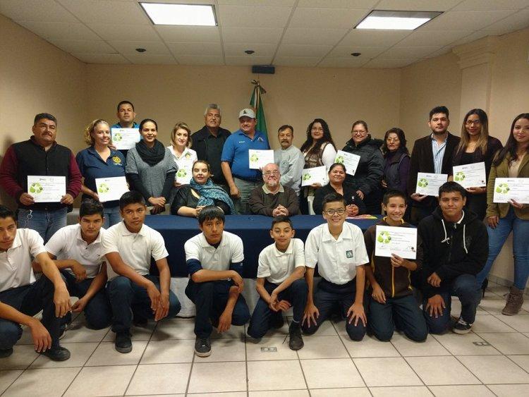 tapas-reconocimiento-voluntarios Puerto Peñasco collects more than 350,000 plastic tops to assist children undergoing chemotherapy