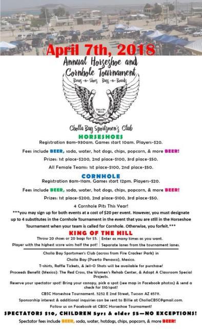 cbsc-horseshoe-tournament Spring has sprung! Rocky Point Weekend Rundown!
