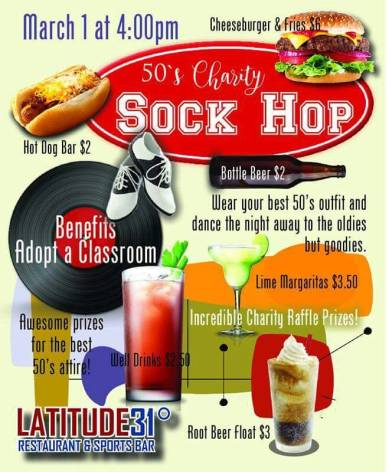 sock-hop ¡Fiesta, Fiesta, Fiesta! Rocky Point Weekend Rundown